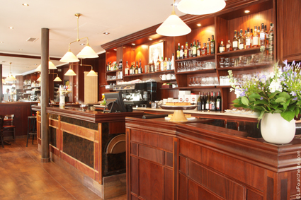 Restaurant Le Bouquet de Neuilly - le bar